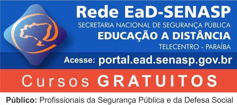 Cursos SENASP EAD