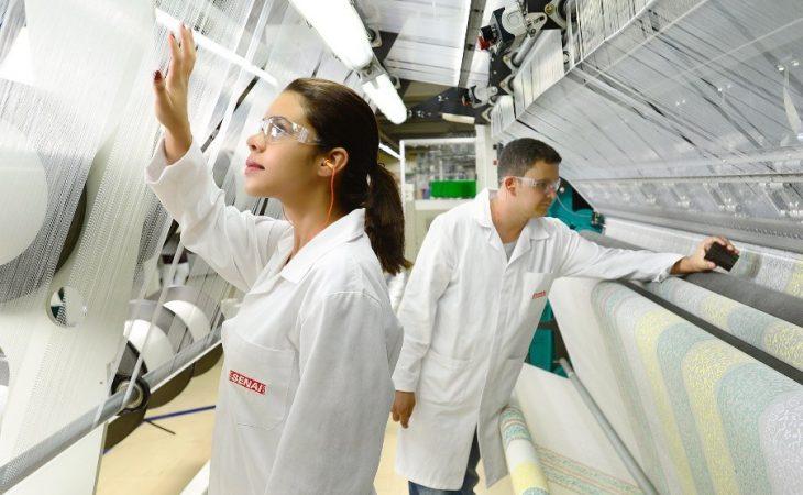 Curso técnico de controle de produção SENAI 2018