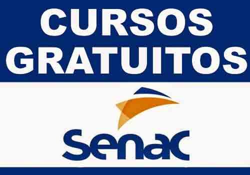 Cursos Gratuitos SENAC 2021